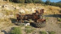 Karaman'da Traktör Şarampole Yuvarlandı Açıklaması 1 Yaralı