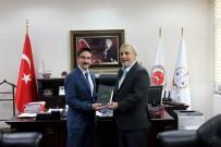 Müftü Çetin, Adalet Komisyonu Başkanlığı Odabaş'a Hayırlı Olsun Ziyareti