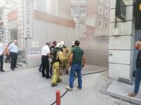 (Özel) Esenyurt'ta Rezidansta Yangın Paniği