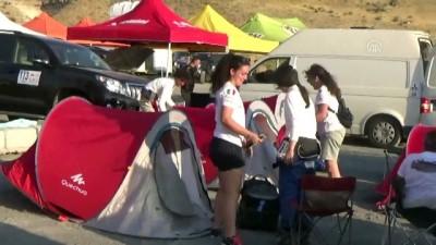 Transanatolia Yarışçıları Geceyi Acıgöl'de Geçirdi