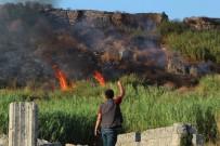 Antik Kenti Tehdit Eden Yangın Söndürüldü