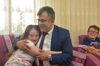 Başkan Çatal'dan Down Sendromlu Sedanur'a Doğum Günü Sürprizi