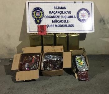 Batman'da 274 Kilo Nargile Tütünü Ele Geçirildi