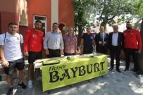 Bayburtspor'a İlk Destek Belediye Başkanından