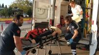 AMBULANS HELİKOPTER - Çatıdan Düşen Genç Kız Ambulans Helikopter İle Hastaneye Kaldırıldı