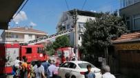 Darıca'daki Çatı Yangını Korkuttu