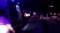 Düzce'de Fındık İşçilerini Taşıyan Araç Kaza Yaptı Açıklaması 13 Yaralı