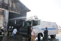 Fabrika Yangınına TOMA'lı Müdahale