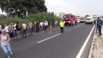 GÜNCELLEME - Aydın'da İşçi Otobüsü Devrildi Açıklaması 1'İ Ağır 44 Yaralı