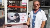 Simitçiden Kadına Şiddete Pankartlı Tepki