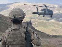 Terör örgütü PKK'ya yönelik 3 ilde 'Kıran-2 Ortak Operasyonu'