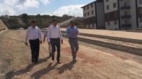 Tokat'ta Yeni Açılan Yollarda Asfalt Çalışması