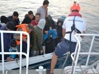 22 Göçmen Sahil Güvenlik Ekiplerine Yakalandı