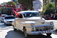 ARAÇ KONVOYU - Bağdat Caddesi'nden Dolmabahçe'ye Klasik Araçlarla Zafer Konvoyu
