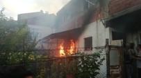 Balkonda Çıkan Yangın Evi Küle Çeviriyordu