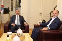 Başsavcı Turgut'tan Rektör Karabult'a Ziyaret