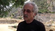 Demre'de Tarım Alanlarının Altında Tarih Yatıyor