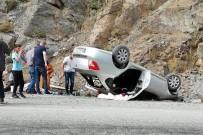 Gümüşhane'de Otomobil Takla Attı Açıklaması 4 Yaralı