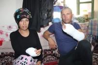 Karaman'da Hamile Kadın İle Kocasına Silahlı Ve Sopalı Saldırı