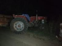 Ölüm Traktör Üzerinde Yakaladı