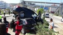 Otomobiller Üst Üste Çıktı Açıklaması 10 Yaralı