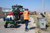 Uçhisar Belediyesi  İlaçlama Çalışmalarını Sürdürüyor