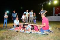 Antalya'da Şenlikte Eşekli Harman Dövülmesine Büyük İlgi