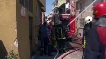 Bursa'da Araç Yangını
