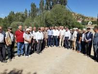 VELİ AĞBABA - CHP İl Başkanı Kiraz, Tohma Çayı'nda İncelemelerde Bulundu