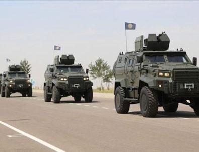 'Ejder Yalçın' zırhlıları Özbekistan ordusunda