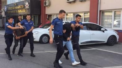 Gebze'de Tırların Akülerini Çalanlar Yakalandı