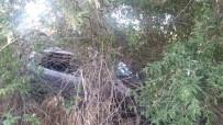 Otomobil Ağaçlık Alana Uçtu Açıklaması 4 Yaralı