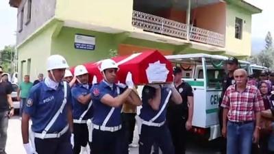 Trafik Kazasında Ölen Bekçi Toprağa Verildi