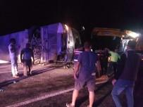 Antalya'da Tur Otobüsü Devrildi Açıklaması Çok Sayıda Yaralı Var