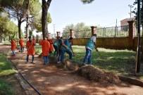 CEZAEVİ MÜDÜRÜ - Başkan Özcan, Sümer Rekreasyon Alanı'ndaki Çalışmaları İnceledi