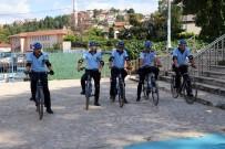 Beykoz Sahillerinde Bisikletli Zabıtalar İş Başında