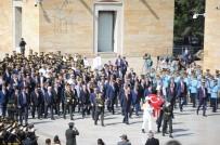 KEMAL KILIÇDAROĞLU - Devlet Erkanı Büyük Zafer'in 97. Yıl Dönümünde Anıtkabir'de