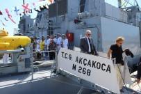 Erdek'te Askeri Gemiler Vatandaşların Ziyaretine Açıldı