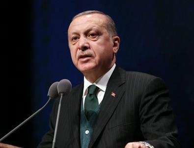 Erdoğan, 30 Ağustos Resepsiyonu'nda konuştu