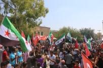 SULTAN SÜLEYMAN - Afrin'de Türkiye'ye Destek Yürüyüşü