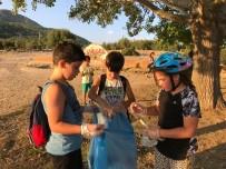 EMNİYET TEŞKİLATI - Doğada Pedal Çevirip, Çöpleri Temizlediler