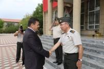 Vali Arslantaş Ve Başkan Aksun'dan Öngay'a Hayırlı Olsun Ziyareti