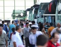KARAYOLU YOLCU TAŞIMACILIĞI - Otobüs biletleri tükendi, ek seferler de doluyor