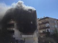 Yangında Mahsur Kalanları Polis Kurtardı