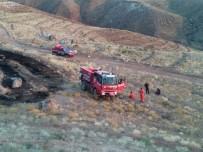 Ağaçlandırma Sahasındaki Yangında 250 Adet Fidan Yandı