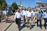 AK Parti Milletvekili Savaş, Yenipazar'da İncelemelerde Bulundu