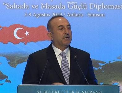 Bakan Çavuşoğlu'ndan 'Doğu Akdeniz' açıklaması