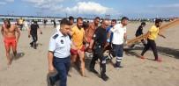 ADNAN MENDERES - Boğulma Tehlikesi Geçiren Yaşlı Adamı Cankurtaranlar Kurtardı