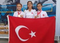 HÜSEYIN ÖNER - Burhaniye'de Özel Sporcular Dünya Şampiyonu Oldu