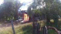 Daday'da Samanlık Yangını Korkuttu